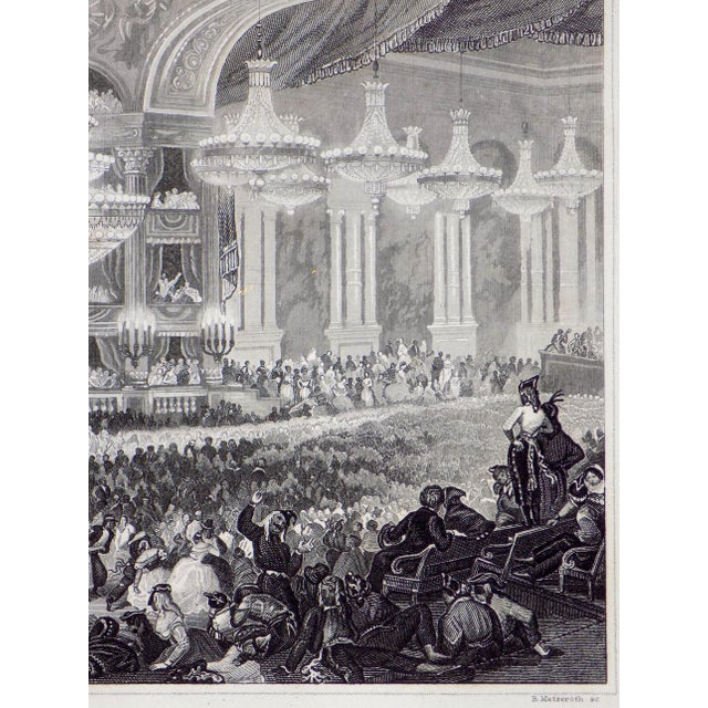 """""""The Opera House in Paris"""" 1855 Engraving - Image 5 of 6"""