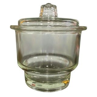 Glass Lab Bowl With Lid