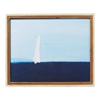 Daniela Orlev Sea & Sailboat Painting Print