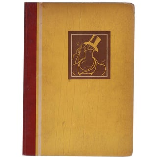 """""""The Second New Yorker Album"""" Hardcover 1929"""