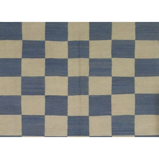 "Image of Pasargad Art-Deco Style Wool Kilim - 5'7"" X 7'5"""