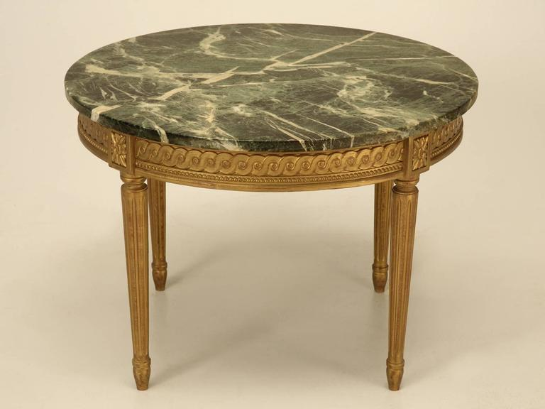 distinguished french louis xvi style coffee table | decaso