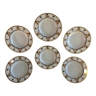 "Christian Dior Hollywood Glamour ""Casablanca"" Fine China Bowls - Set of 6"