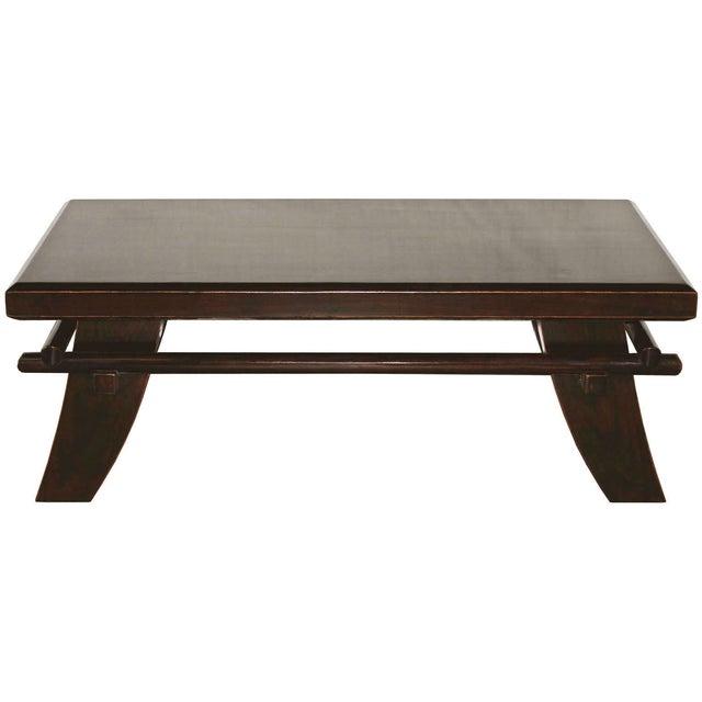 Shinto Elm Wood Coffee Table - Image 1 of 7