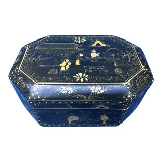 Chinese Chinoiserie Hand Painted Box