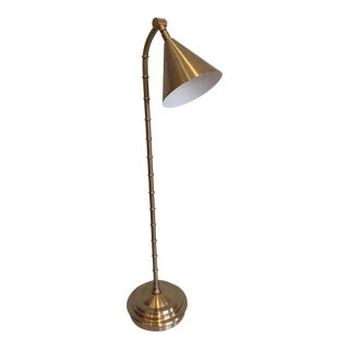 Faux Brass Table Lamp