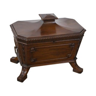 Antique 19th Century Mahogany Regency Style Cellarette