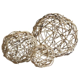 Selamat Designs Natural Windsor Knots - Set of 3