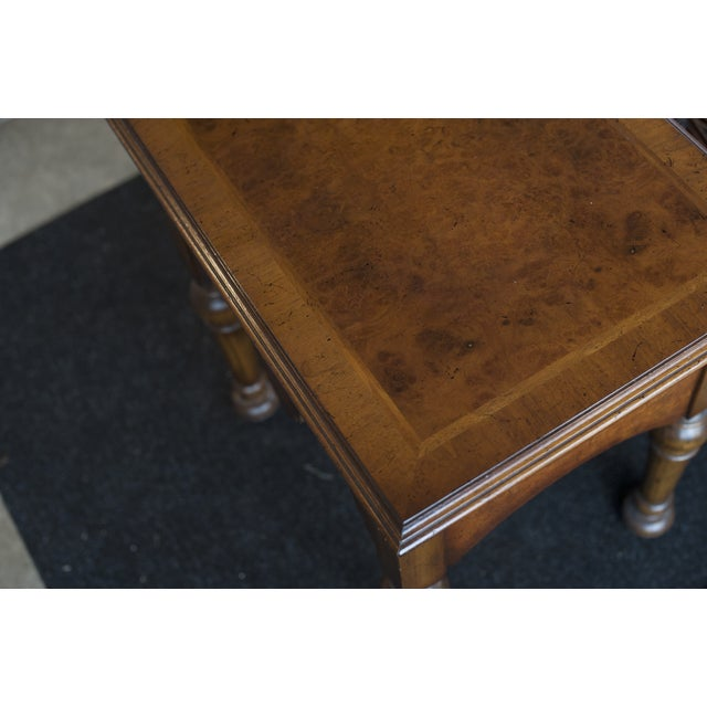 Yorkshire Rosewood Stained End Table - Image 6 of 6