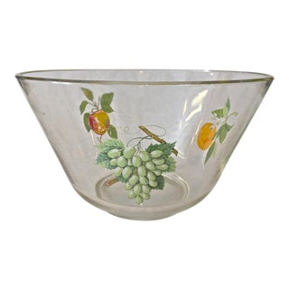 1950's Handpainted Fruit Bowl