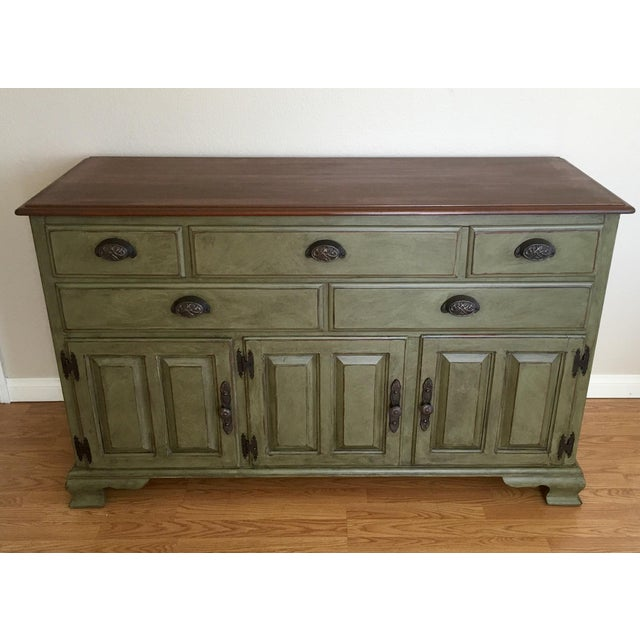 Vintage Solid Wood Kling Buffet - Image 2 of 5