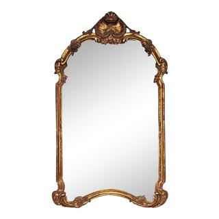 Carved Italian Gilt Mirror