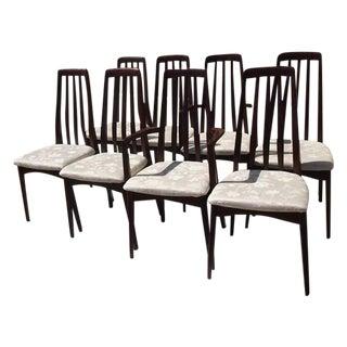 Svegards Rosewood Dining Chairs - Set of 8
