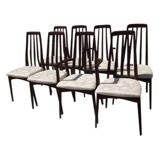 Svegards Rosewood Dining Chairs - Set of 8