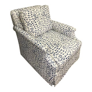 Gallas Custom Upholstered Swivel Chair