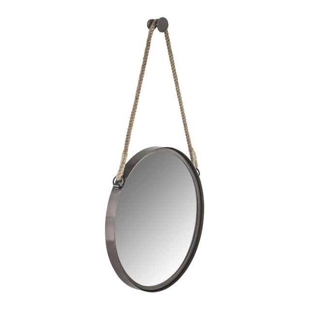 Nautical Round Steel Framed Mirror - Image 2 of 2