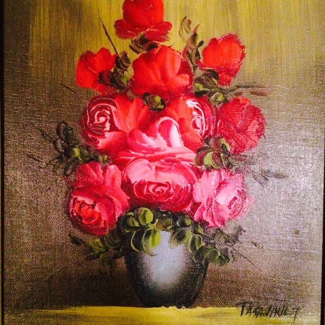Original Oil Painting, Signed Pasanault - Image 3 of 5
