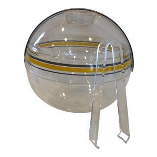 Guzzini Zippy Ice Bucket & Tongs