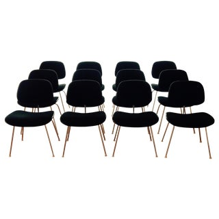 Eames by Herman Miller Black Chairs - Lc 110