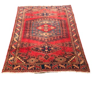 Antique Malayer Persian Rug- 5' × 7'