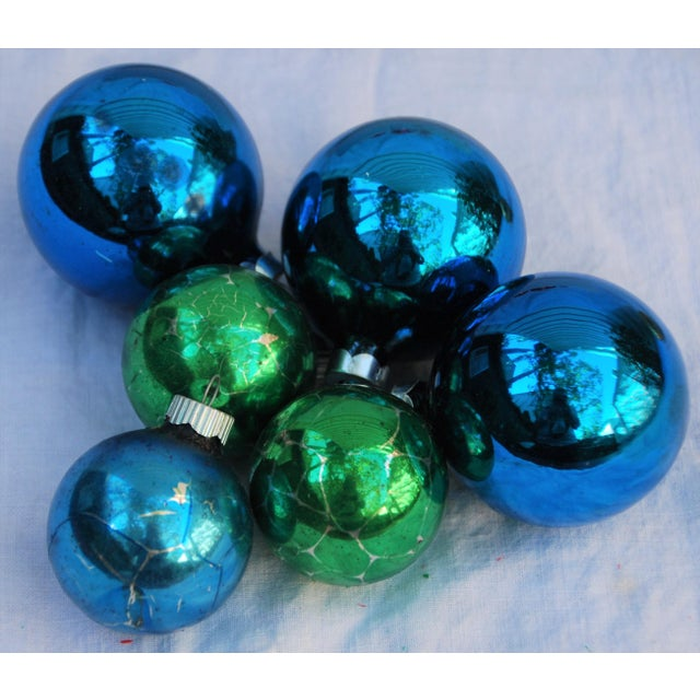 Vintage Christmas Ornaments - Set of 43 - Image 10 of 11