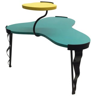 Harry Siegel Memphis Inspired Side Table
