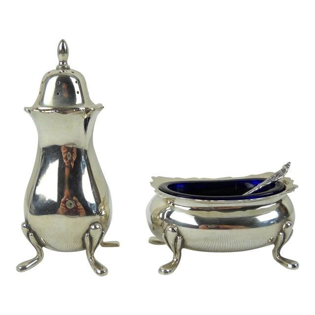 Fisher Sterling Salt & Pepper Set - Set of 5 - Image 1 of 10