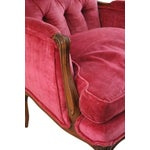 Image of Fuchsia Club Chairs - 2