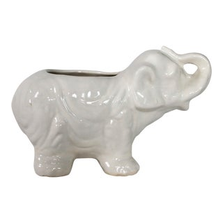 Small Vintage Elephant Planter
