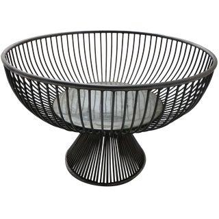 Warren Platner Style Mid Century Fruit Basket