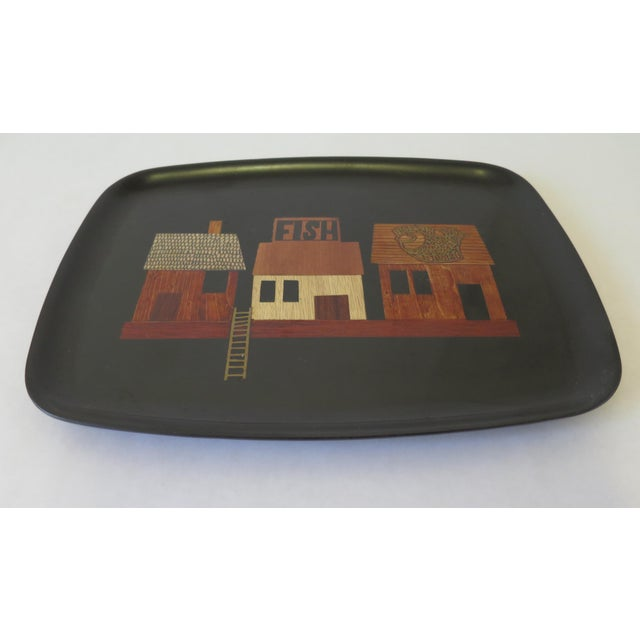 Vintage Couroc Serving Tray - Image 3 of 6