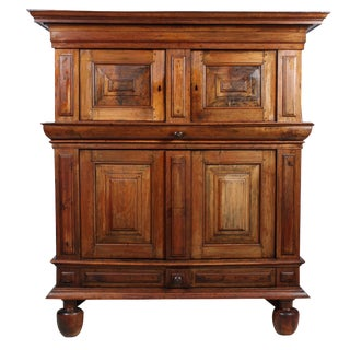 19th-C. Jacobean Renaissance-Style Hutch