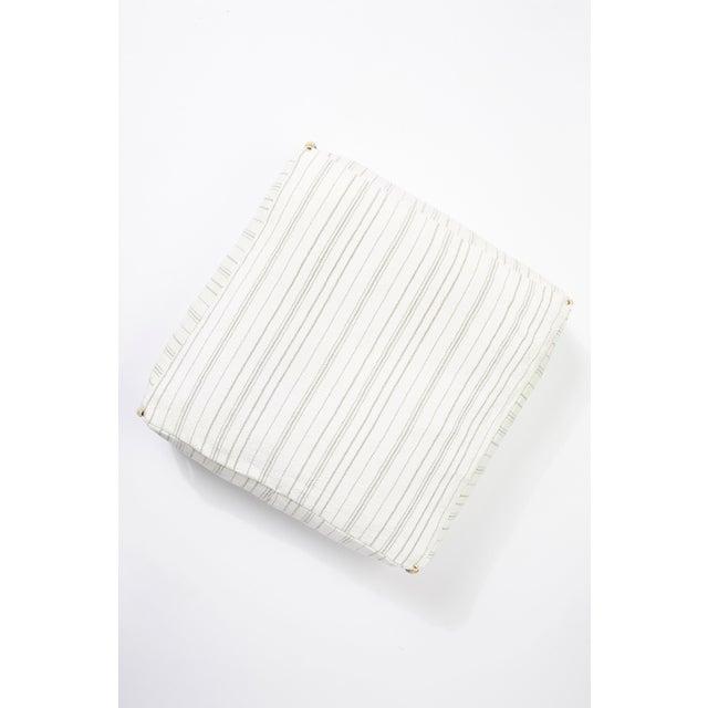 Boho Style Floor Pillows : Boho Style Striped Floor Cushion Chairish