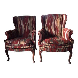 Custom Upholstered Chairs - A Pair