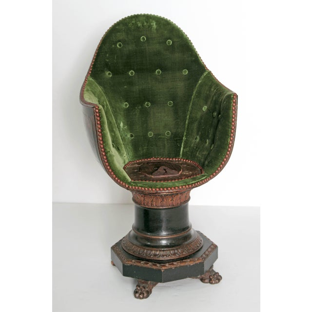 A Nineteenth Century Venetian Child's Gondola Chair - Image 7 of 11