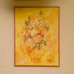 Image of Floral Impressionist Painting Signed Bernheim