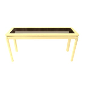 Lane Furniture Mid-Century Lacquered Console Table