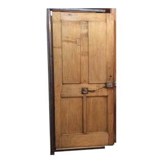 Single Oak Entry Door