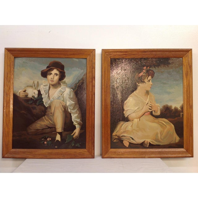 Paint by Numbers Age of Innocence - A Pair - Image 2 of 8
