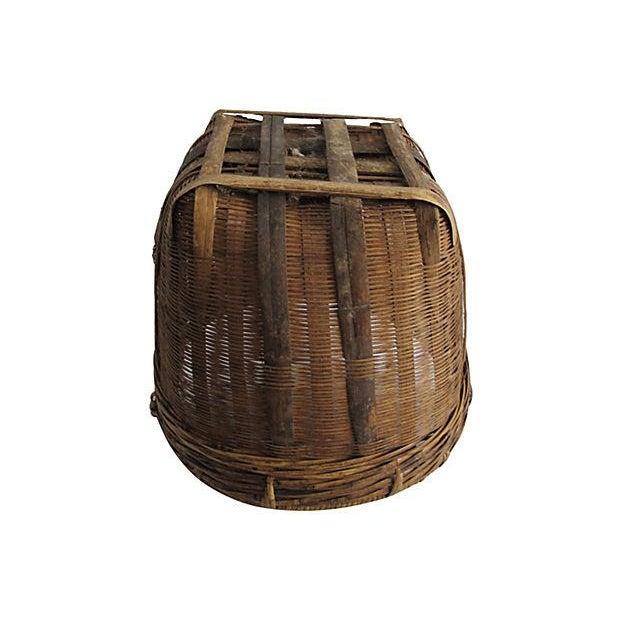 Image of Antique American Apple Basket