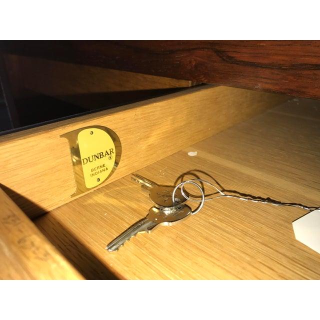 Image of Ed Wormley Rosewood English Oak Desk