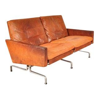 PK 31/2 Sofa by Poul Kjaerholm for E. Kold Christensen, Denmark, 1958