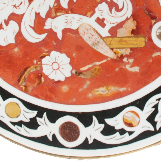 Pietra Dura Mosaic Table - Image 5 of 10