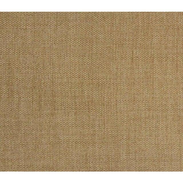 Saarinen Executive Armchairs in Gold Woven-Microfiber, Set of Six - Image 5 of 5