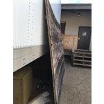 Image of Antique Rustic Gray Barn Door