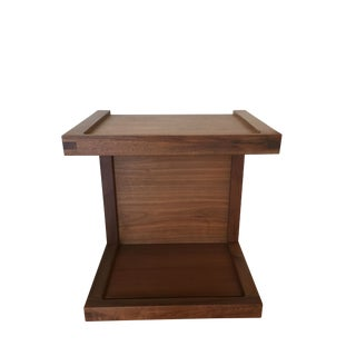 Design Within Reach Walnut Nightstand