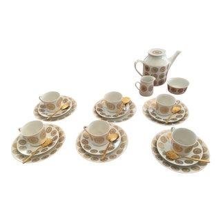 Porsgrund Mid-Century Danish Porcelain Coffee Service