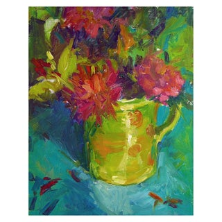Floral Still Life Painting by Brigitte Woosley