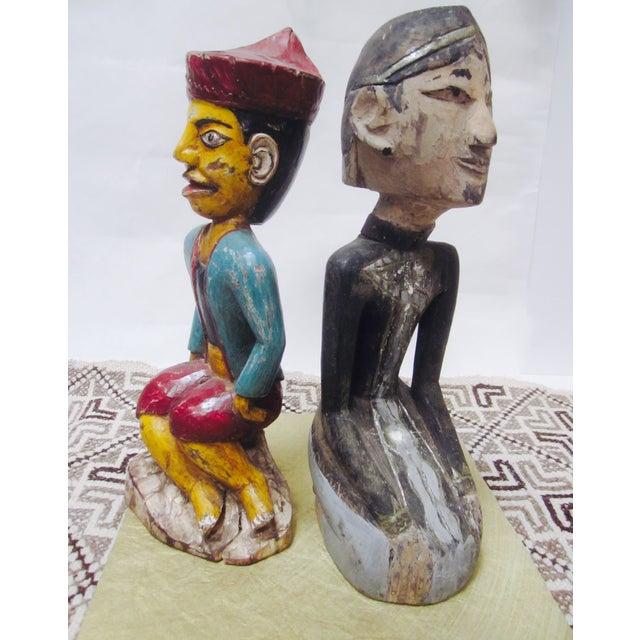 Global Boho Pair Statues - Pair - Image 3 of 9