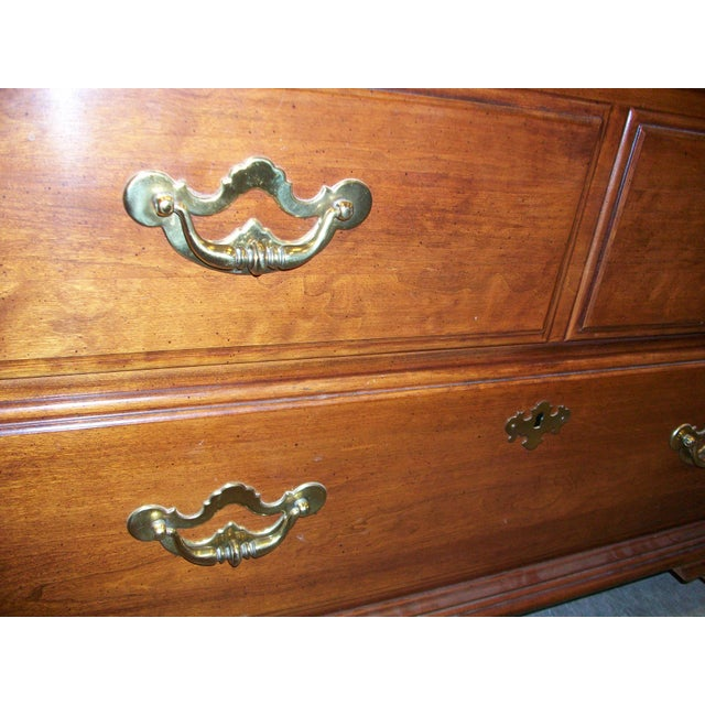 Thomasville Collectors Cherry Armoire - Image 10 of 11